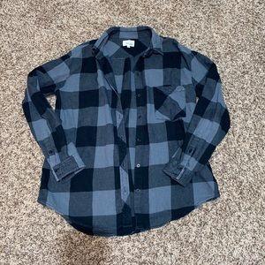 Aritzia Wilfred Free Plaid Shirt S